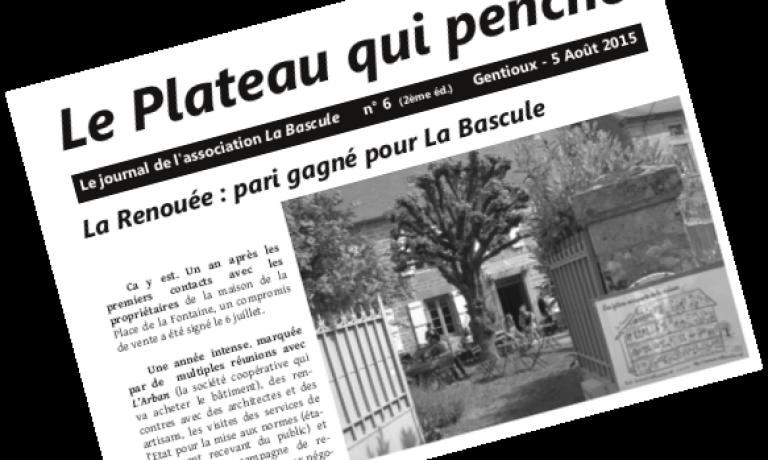 Publication du Plateau qui Penche n°6