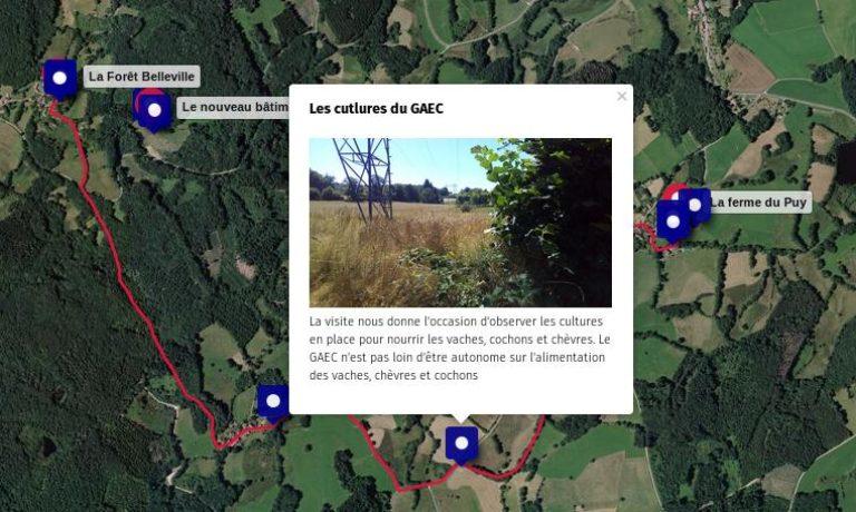 Retour en cartes & photos sur la journée au GAEC des Héliantes