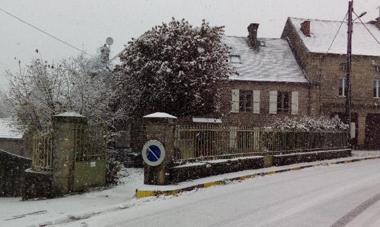 Premières neiges et nouvelles de l'aventure